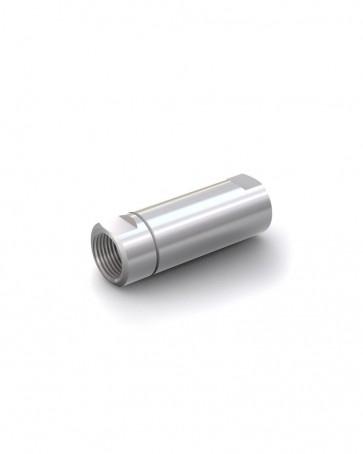"Valvola di ritegno acciaio inox - G3/4"" femmina / G3/4"" femmina - max. 250 bar - DN 16 mm"