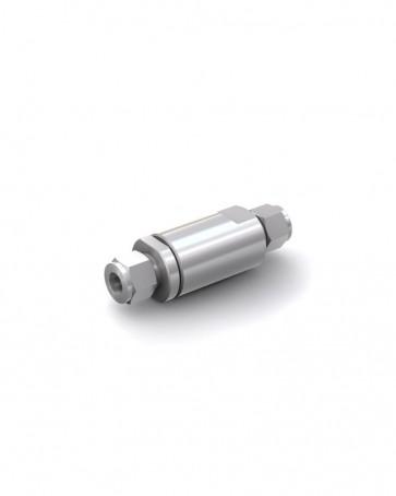 Valvola di ritegno acciaio inox - Doppia ogiva tubo Ø 12 mm / Doppia ogiva tubo Ø 12 mm - max. 350 bar - DN 10 mm