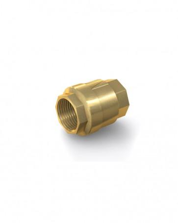 "Valvola di ritegno ottone - G1 1/2"" interna / G1 1/2"" interna - max. 25 bar - DN 40 mm"