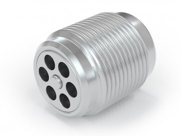 "Valvola di ritegno acciaio inox - G3/8"" maschio / G 3/8"" maschio - max. 250 bar - DN 7 mm"