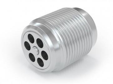 Valvola di ritegno acciaio inox - M18x1,5 maschio / M18x1,5 maschio - max. 250 bar - DN 7 mm