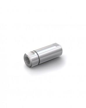 "Valvola di ritegno acciaio inox - G1/2"" femmina / G1/2"" femmina - max. 250 bar - DN 14 mm"