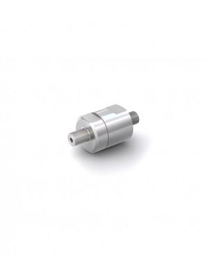 "Valvola di ritegno acciaio inox - G1/8"" maschio / G1/8"" maschio - max. 400 bar - DN 3 mm"