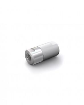 "Valvola di ritegno acciaio inox - G1/4"" femmina / G1/4"" femmina - max. 250 bar, DN 6 mm"