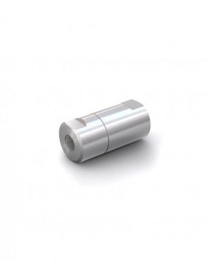 "Valvola di ritegno acciaio inox - G1/8"" femmina / G1/8"" femmina - max. 400 bar - DN 6 mm"