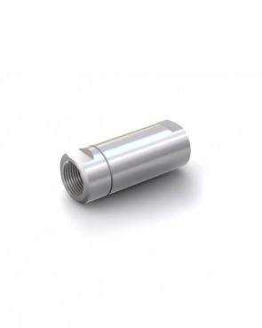 "Valvola di ritegno acciaio inox - G1"" femmina / G1"" femmina - max. 250 bar - DN 20 mm"