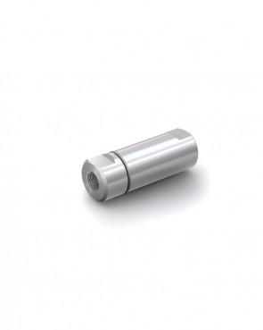 "Valvola di ritegno acciaio inox - G3/8"" femmina / G3/8"" femmina - max. 250 bar - DN 14 mm"