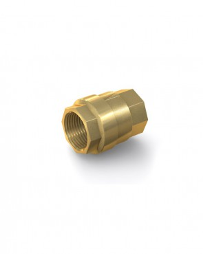 "Valvola di ritegno ottone - G1 1/4"" interna / G1 1/4"" interna - max. 25 bar - DN 32 mm"