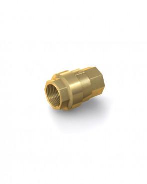 "Valvola di ritegno ottone - G1/2"" interna / G1/2"" interna - max. 40 bar - DN 15 mm"