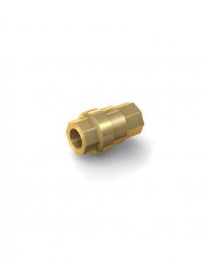"Valvola di ritegno ottone - G1/4"" interna / G1/4"" interna - max. 40 bar - DN 8 mm"