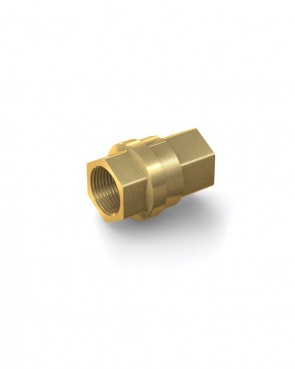 "Valvola di ritegno ottone - G3/4"" interna / G3/4"" interna - max. 30 bar - DN 20 mm"