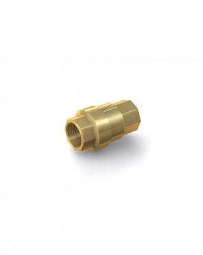 "Valvola di ritegno ottone - G3/8"" interna / G3/8"" interna - max. 40 bar - DN 10 mm"