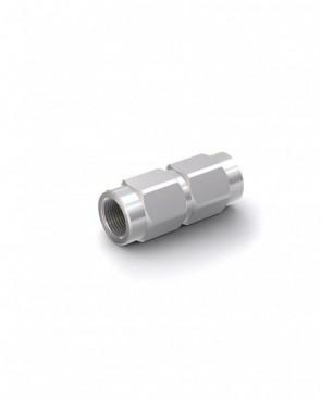 """Valvola di ritegno acciaio zincato - G3/8"""" interna / G3/8"""" interna - max. 300 bar - DN 10 mm"""