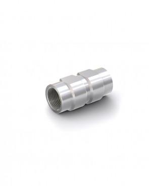 """Valvola di ritegno acciaio zincato - G2"""" femmina / G2"""" femmina - max. 200 bar - DN 50 mm"""